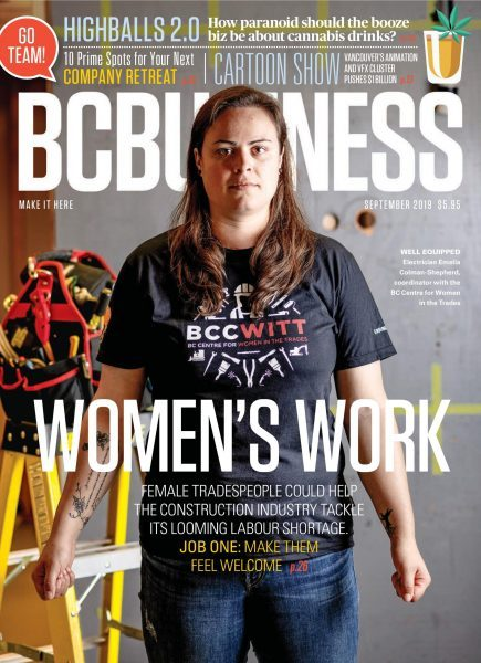 BC Business: Cover StoryWomen working in the trades.