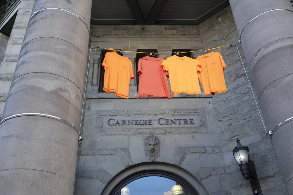 Orange Shirt Day, Carnegie Centre Vancouver, 2020